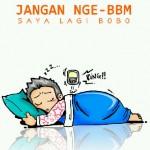 DP BBM Lucu Tidur Bobo