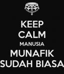 Gambar DP BBM Benci Cewek Munafik